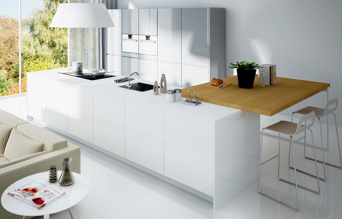 Modern Kitchen Design   International Supplier of Wood Products ...